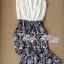 Lady Ribbon จั๊มสูทตัดต่อกางเกงขายาว พิมพ์ลายดอกไม้ thumbnail 12