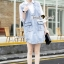 Seoul Secret Korea Denim Dress Shirt Mix thumbnail 6