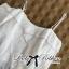 Lady Ribbon Lace Top เสื้อสายเดี่ยวเปิดไหล่ประดับผ้าลูกไม้ thumbnail 8
