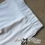 Lady Ribbon Marble Chiffon Top and White Leggings Set thumbnail 9