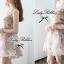Lady Ribbon Vintage Dress เดรสชีฟอง ดีเทลหลังซีทรู thumbnail 7