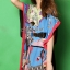 Seoul Secret Colorful Coral Dress thumbnail 4