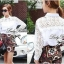 Lady Ribbon White Lace Shirt เสื้อเชิ้ตสีขาว แต่งลูกไม้ thumbnail 3