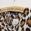 เดรสผ้าชีฟอง พิมพ์ลาย Leopard สีน้ำตาล thumbnail 7