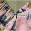 Lady Ribbon ชุดเซ็ทเสื้อเปิดไหล่และกางเกงเอวสูง สีชมพู สีฟ้า thumbnail 12