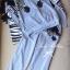 Lady Ribbon เซ็ตเสื้อ กางเกง พิมพ์ลายม้าลาย ดีเทลเก๋ แต่งขนม้าลาย thumbnail 10