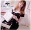 B&W Ribbon Mini Dress มินิเดรสโทนสีขาวดำ แต่งโบว์ thumbnail 2