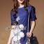 Seoul Secret Blue Denim Lace Furnish Dress thumbnail 4