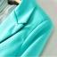 ZARA WOMAN Blazer สีน้ำเงิน แต่งซับในลายทาง (Size M) thumbnail 5