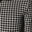 Houndstooth Top เสื้อตัวยาว ผ้าไหมพรม ถักลายชิโนริ thumbnail 3