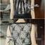 Lady Ribbon Chiffon Lace Maxi Dress เดรสยาวตัดต่อผ้าชีฟองและผ้าลูกไม้สไตล์วินเทจ thumbnail 6
