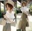 Lady Ribbon เสื้อผ้าลูกไม้เปิดไหล่ สไตล์วินเทจ thumbnail 5