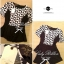 Lady Ribbon Black&White Set ชุดเซ็ทเสื้อกางเกง พิมพ์ลายกราฟฟิค thumbnail 12
