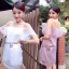 Cliona Made Raffle Dress มินิเดรสสายเดี่ยวผ้าแก้ว แต่งระบายผ้าแก้ว thumbnail 2