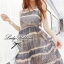 Lady Ribbon Floral Maxi Dress แมกซี่ชีฟองพิมพ์ลายลูกไม้ thumbnail 2