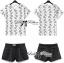 Lady Ribbon Set ชุดเซ็ตเสื้อพิมพ์ลายและกางเกงขาสั้นสไตล์สบายๆ thumbnail 4