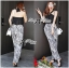 Lady Ribbon Smart Sexy Abstract Print Jumpsuit thumbnail 2