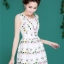 Icevanilla Luxury Lively 3D Floral Embroidery Dress thumbnail 7