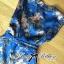 Lady Ribbon Chinoise Floral Printed Sleeveless Shirt Jumpsuit thumbnail 9