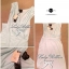 Lady Ribbon Jersey Dress เซ็ตเดรสผ้ายืดเกาะอก สีเขียว/สีดำ thumbnail 14