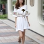 Seoul Secret Nifty Bohe Embroider Ivory Dress thumbnail 2