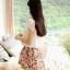 Cherry KOKO Sweet Floral Set ชุดเสื้อ กระโปรงผ้าชีฟอง พิมพ์ลายดอกไม้ thumbnail 5