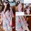 Molly Print Dress ชุดเดรสพิมพ์ลาย ผ้าชีฟองเกาหลี thumbnail 2