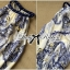 Lady Ribbon Maxi Dress เดรสยาวแขนกุด พิมพ์ลายเพสลีย์ thumbnail 8
