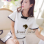 Seoul Secret ชุดเซ็ท เสื้อและกระโปรงกางเกง โทนสีขาวดำ thumbnail 6
