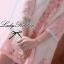 Lady Ribbon มินิเดรสลูกไม้ ทอลายดอกไม้ สีชมพู thumbnail 3
