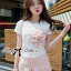 Lady Ribbon Lady Cara Blossom Sweet Chic T Shirt thumbnail 1