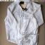 Lady Ribbon Floral Lace Shirt เสื้อเชิ้ตแขนยาว ลูกไม้ซีทรู thumbnail 7