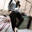 Seoul Secret ชุดเซ็ท เสื้อแขนยาว กางเกงทรงฮาเล็ม thumbnail 2