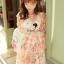 Seoul Secret Chiffon Pink Sakura Dress thumbnail 4