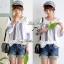 Lady Ribbon เสื้อปักครอสติสเกาหลี สม็อคคอเสื้อ ผูกโบว์ thumbnail 9