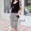 Seoul Secret ชุดเซ็ท เสื้อผ้าชีฟอง กางเกงทรง Halem thumbnail 11