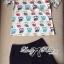 Lady Ribbon Set ชุดเซ็ตเสื้อพิมพ์ลายนกฮูก กางเกงขาสั้นเอวสูง thumbnail 5