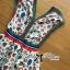 Lady Ribbon Colorful Flower Printed Viscose Dress thumbnail 9