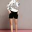 Lady Ribbon เสื้อเชิ้ตพิมพ์ลาย Chanel พร้อมผ้าพันคอ thumbnail 6
