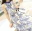 Lady Ribbon Maxi Dress เดรสยาวแขนกุด พิมพ์ลายเพสลีย์ thumbnail 1