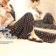 Odee Cutie Black&White Polka Dot Jumpsuit จั๊มสูทขายาว ลายจุด thumbnail 7