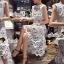 Seoul Secret Classy Flora Lace Dress thumbnail 4
