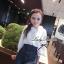 Lady Ribbon เสื้อเชิ้ตสไตล์สาวเกาหลีปกข้าง สีขาว-สีดำ thumbnail 2