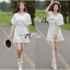 Lady Ribbon เดรสสีขาว ฉลุลายและปักผ้าลูกไม้สไตล์วินเทจ thumbnail 2