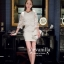 Icevanilla Luxury See-through White Lace Dress thumbnail 7