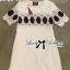 Lady Ribbon มินิเดรสสีขาว ปักลายสไตล์ Vintage-Chic thumbnail 7