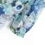 ZARA เสื้อคอจีน ผ้าพิมพ์ลายดอก โทนสีน้ำเงินฟ้า thumbnail 14