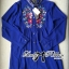Lady Ribbon Dolce Vita Embroidered Chiffon Shirt Dress thumbnail 7