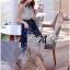 Lady Ribbon Maxi Dress เดรสยาวผูกคอพิมพ์ลายดอกไม้สไตล์เซ็กซี่ thumbnail 2