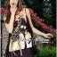 Lady Ribbon Dress เดรสพิมพ์ลายยีราฟสีสันสดใส thumbnail 1